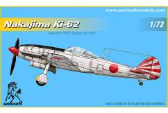 Unicraft Models 1/72 Nakajima Ki-62 (Resin) image