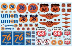 AMT 1/25 Phillips 66 & Union 76 Trucking Decal Pack image