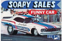 MPC 1/25 Dodge Challenger Soapy Sales Funny Car image