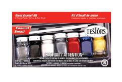 Testors Gloss Enamel Paint Set image