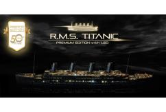 Academy 1/400 R.M.S Titanic Premium Limited Edition with LED image
