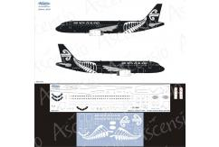Ascensio 1/144 Air New Zealand A320 Black Decal Set image