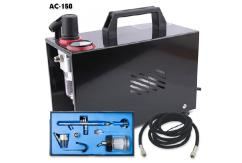 Fengda Encased Air Compressor with Pro Suction Feed Airbrush image