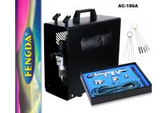 Fengda Compressor with Pro Gravity Airbrush & Spares image