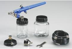 Hobbico External Mix Airbrush Set with Two Bottles image