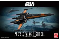 Bandai 1/72 Poe's X-Wing Fighter - Snap Kit image