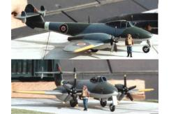 Unicraft Models 1/48 Gloster 'Trent' Meteor (Resin) Conversion Kit image