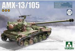 Takom 1/35 French Light Tank AMX-13 2N1 image
