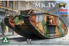 Takom 1/35 WWI Heavy Mk.IV (2N1) LTD New Decals image