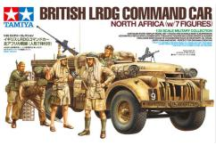 Tamiya 1/35 LRDE Command Car with 7 Figures image