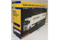 "Italeri 1/24 Actros with 2x20' Containers Trailer ""DB Schenker"" image"