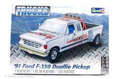 Revell 1/25 '91 Ford F-350 Duallie Pick-Up image