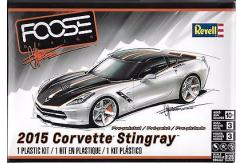 Revell 1/25 2015 Corvette Stingray Foose Design image