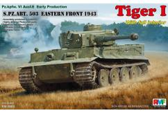 Rye Field Model 1/35 Tiger 1 Early Production 1943 North Africa image