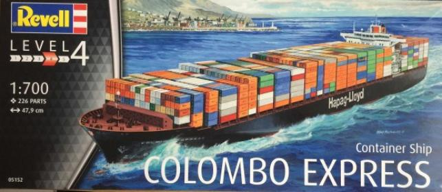 Revell 1/700 Colombo Express Container Ship