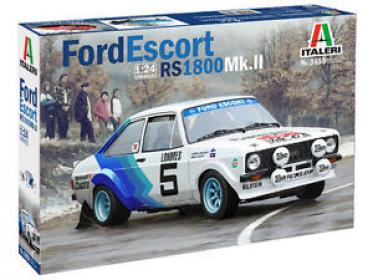 Italeri 1/24 Ford Escort Mk II RS 1800 Rally