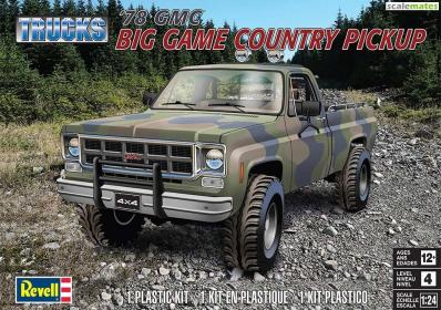 Revell 1/25 1978 GMC Big Game Country Pickup