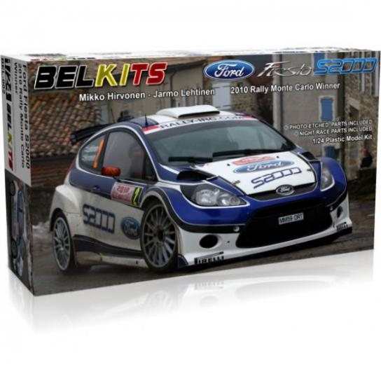 Belkits 1/24 Ford Fiesta S2000 Rally Car 2010 image