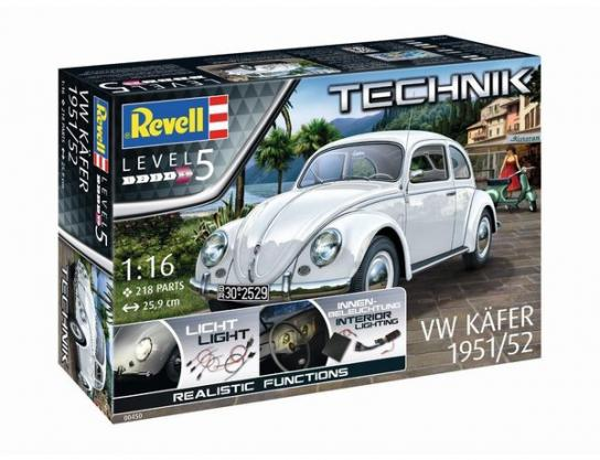 Revell 1/16 VW Beetle 1951/52 - Technik Model image