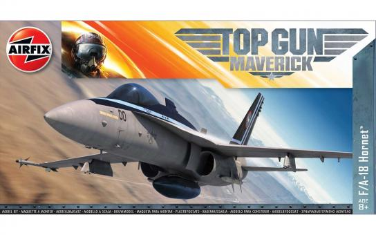 Airfix 1/72 Mavericks F-18 Hornet - Top Gun image