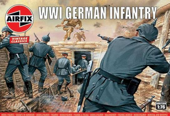 Airfix 1/76 WWI German Infantry image
