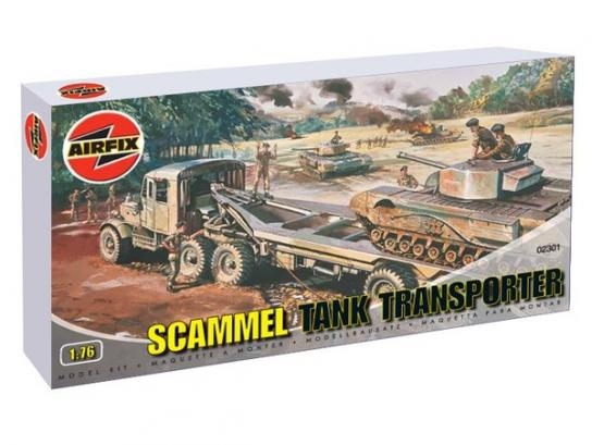 Airfix 1/76 Scammell Tank Transporter image
