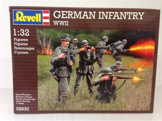 Revell 1/32 German Infantry WWII image