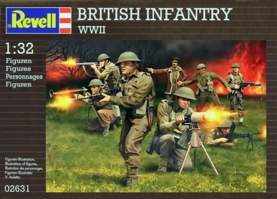 Revell 1/32 British Infantry WWII image
