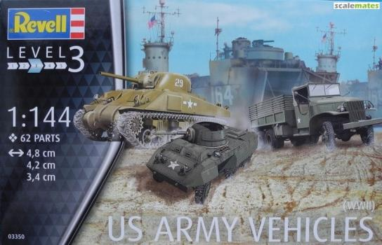 Revell 1/144 US Army Vehicles WWII image
