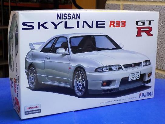 Fujimi 1/24 Nissan R33 Skyline GT-R 1995 - Plastic Models