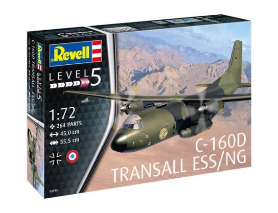 Revell 1/72 C-160D Transall ESS/NG image