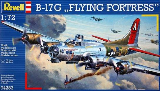 Revell 1/72  B-17G Flying Fortress image