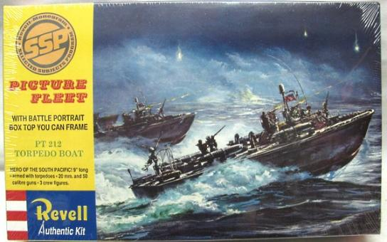 Revell 1/96 PT Boat with Artwork image