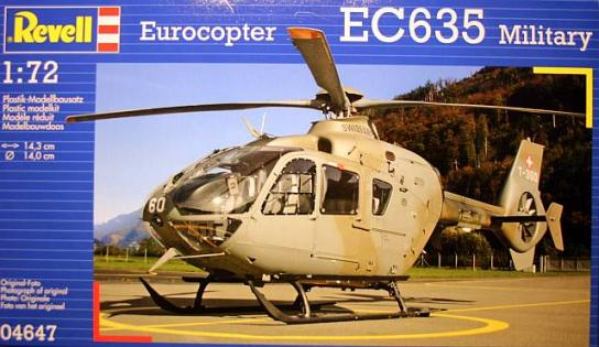 Revell 1/72 EC635 Military Helicopter image