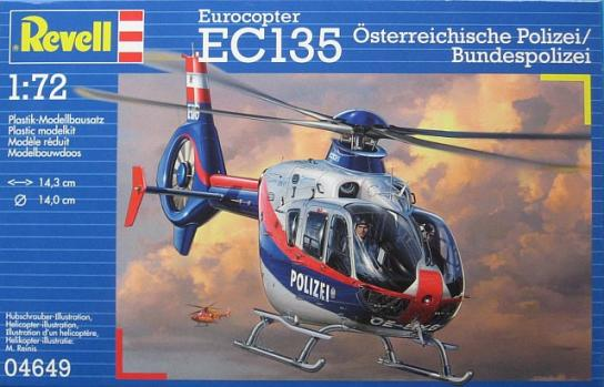 Revell 1/72 Eurocopter EC-135 Austrian Police image