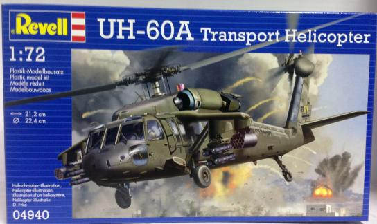 Revell 1/72 UH-60A Transport Helicopter image