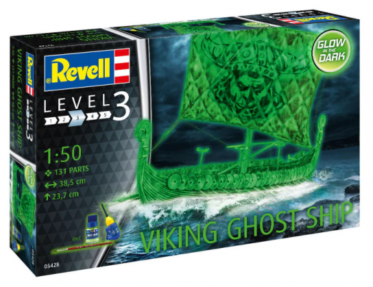 Revell 1/50 Viking Ghost Ship image