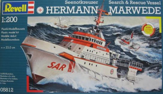 Revell 1/1200 Dgzrs Hermann Marwede Rescue image