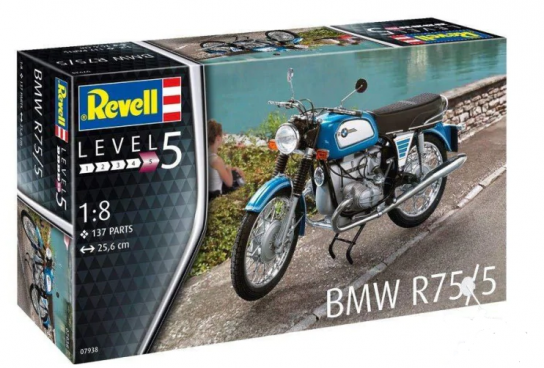 Revell 1/8 US BMW R75/5 image