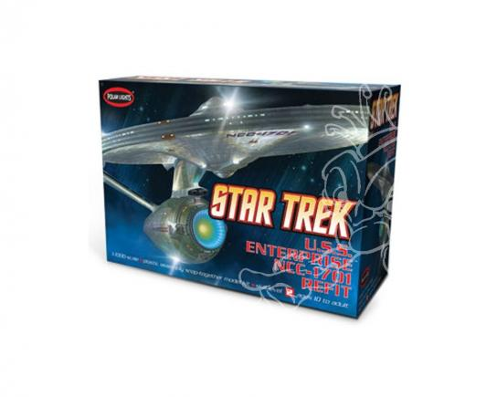 Polar Lights 1/1000 Star Trek U.S.S Enterprise NCC-1701 Refit image