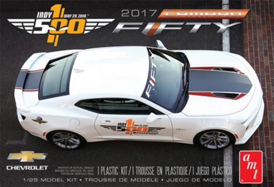 AMT 1/25 2017 Cheverlot Camaro Fifty Pace Car image