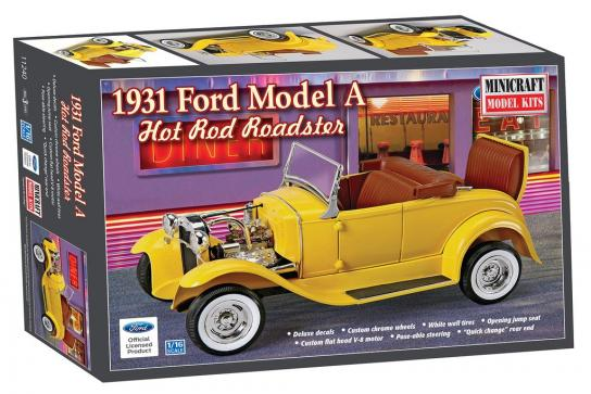 Minicraft 1/16 1931 Roadster Hot Rod  image