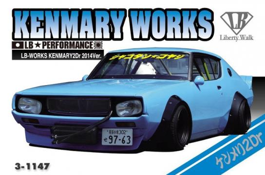 Aoshima 1/24 LB Works Kenmary 2 Door 2014 Version image