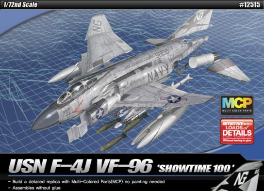 Academy 1/72 F-4J Showtime 100 image