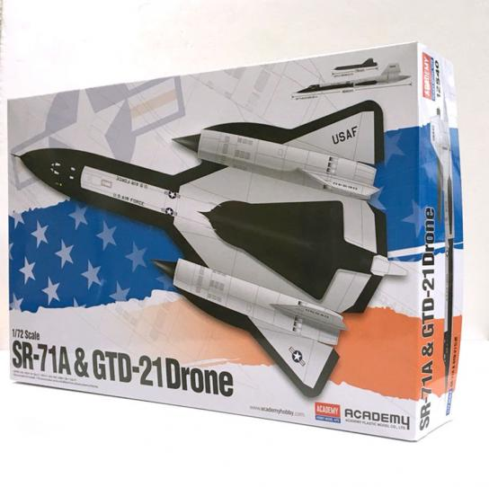 Academy 1/48 SR-71 & GTD-21 Drone image