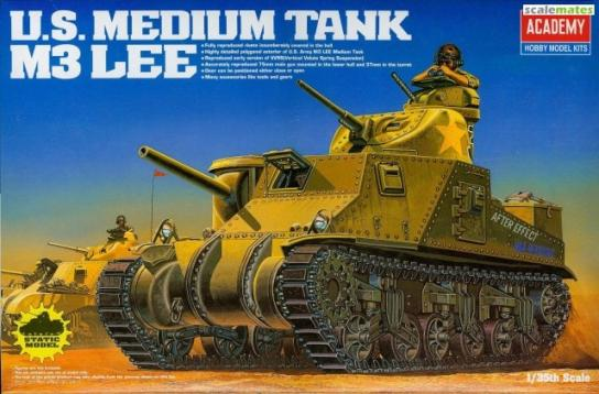 Academy 1/35 M3 Lee US Medium Tank image