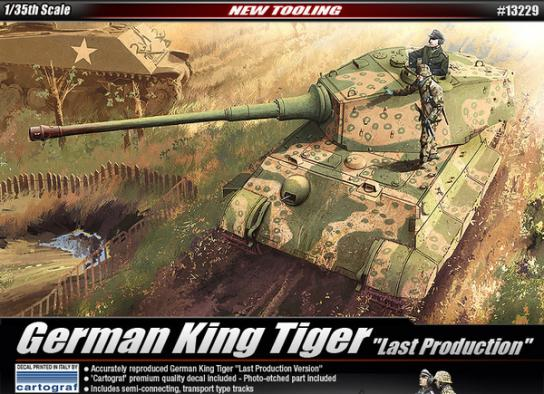 Academy 1/35 King Tiger - Last Production image