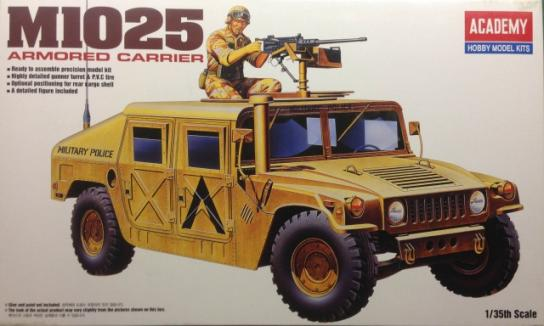 Academy 1/35 M-1025 Armored Carrier image