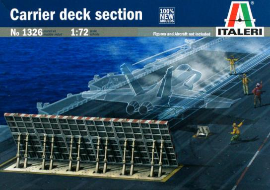 Italeri 1/72 Carrier Deck Section image