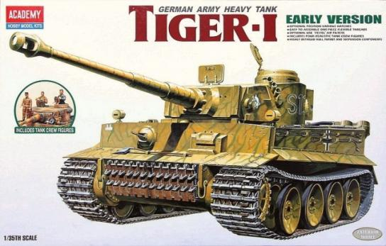 Academy 1/35 Tigertank WWII Exterior Model image